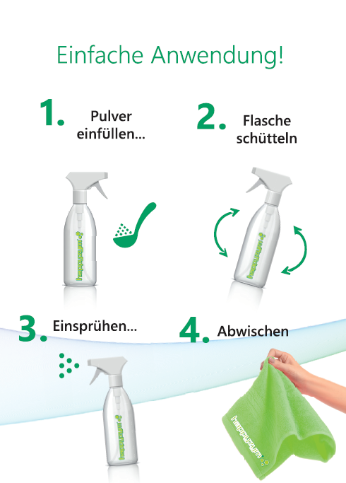 happyzym® Allzweckenzymreiniger und Geruchsentferner 1000g